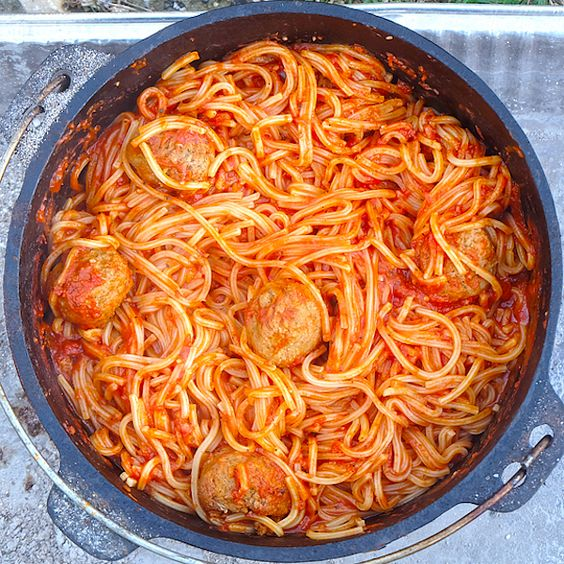 Yes, you can even make Spaghetti and Meatballs when you're camping, with this recipe at Unorthodox Epicure