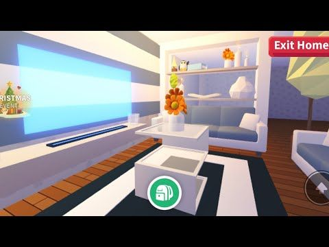 Adopt Me Simple Living Room Estate Youtube In 2020 Simple Living Room Cute Room Ideas Simple Bedroom Design