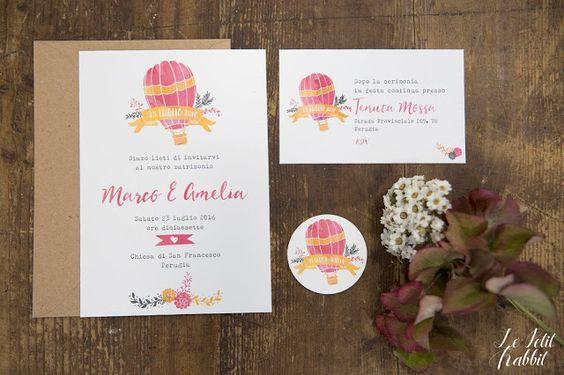[WEDDING] Creative Wedding Suite_partecipazione matrimonio designed by Le Petit Rabbit
