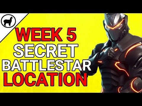 Week 5 Secret Battlestar Blockbuster Challenge Location Fortnite
