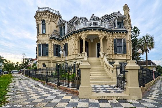Historic Trube Castle. Galveston, TX! Loved growing up spending summer days at the beach here. Good memories.