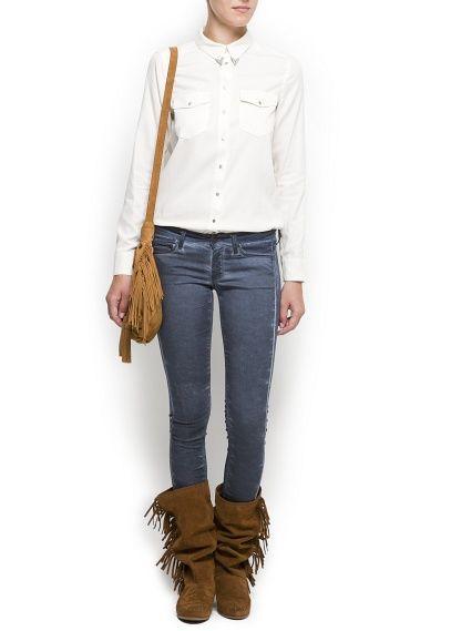 TOUCH - Suede fringed boots  #Boho #MyBohoCloset #Fashion