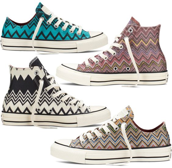 Step Up Your Sneaker Game With Missoni x Converse All Stars