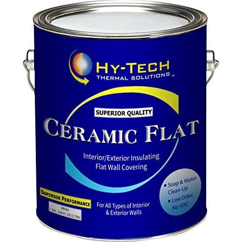 Insulating Ceramic Flat Paint - 5 Gallon Hy-Tech Thermal Solutions http://www.amazon.com/dp/B01ACIJH3A/ref=cm_sw_r_pi_dp_r9T4wb0JNQEAH