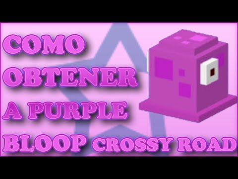 Como desbloquear a Purple Bloop en Crossy Road - http://trucosparacrossyroad.com/como-desbloquear-a-purple-bloop-en-crossy-road/