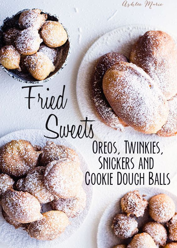 sweet deep fried treats are a favorite food at fairs, they are easy to make at home and always a huge hit - recipe and video tutorial