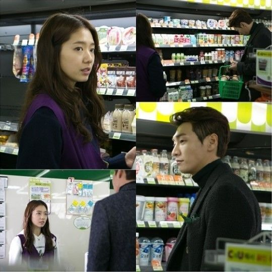 Pinocchio Park Shin Hye and Kim Young Kwang Meet at Convenient Store