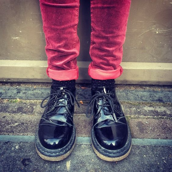 I know what i want // kidblogger Elijah cool look a like dr martens