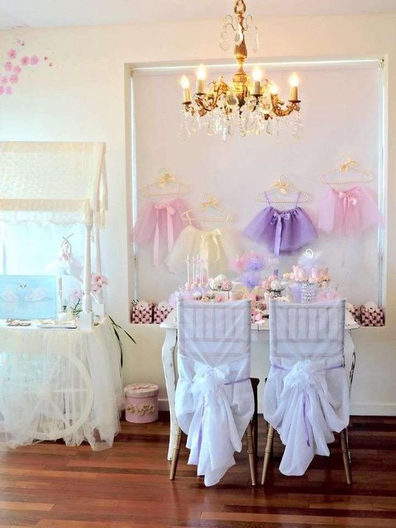 Pretty pastel ballerina birthday party! See more party ideas at CatchMyParty.com!