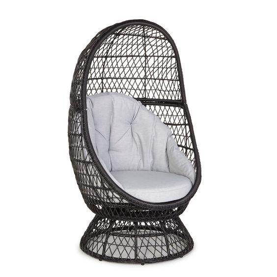 Anya metal egg chair diy egg chair and eggs for Diy hanging egg chair