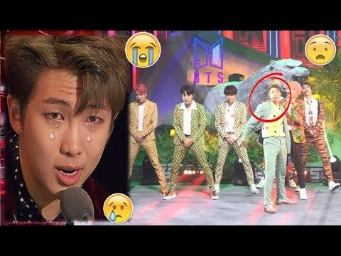 Bts Rm Accident While Performing On Stage All Scenes Bts Video Bts Bts Love Yourself
