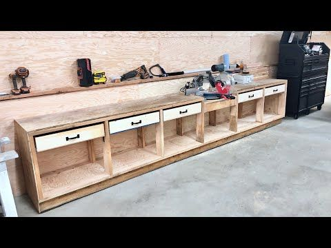 Pony Wall Workbench Ana White In 2020 Workbench Plans Diy Pony Wall Wood Shop Projects