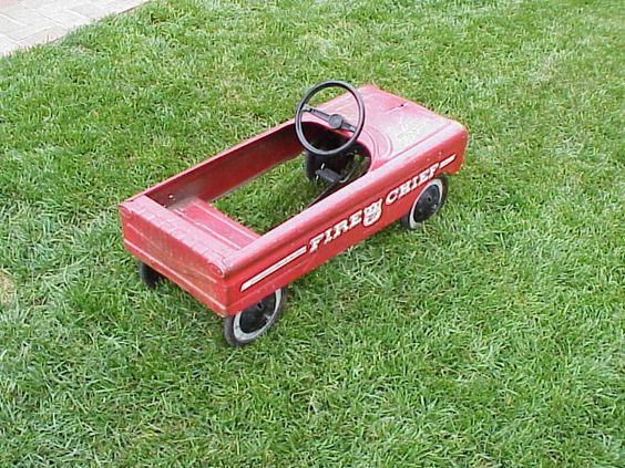 Tractor Pedal Car Parts : Western flyer pedal car parts sold amf
