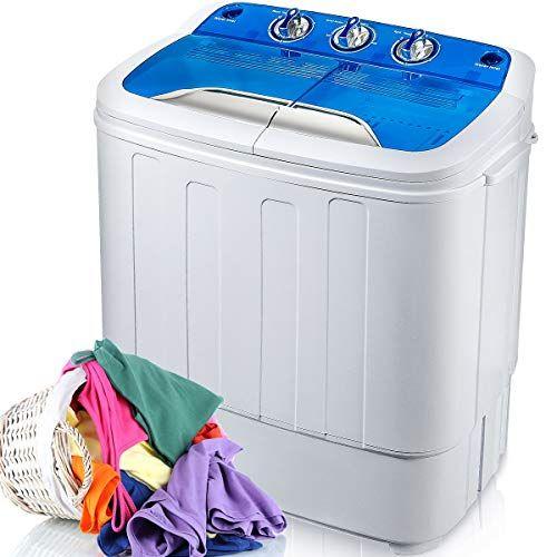 Merax Portable Washing Machine Mini Compact Twin Tub Wash Https Www Amazon Com Dp B07ky Portable Washing Machine Portable Washer And Dryer Washing Machine