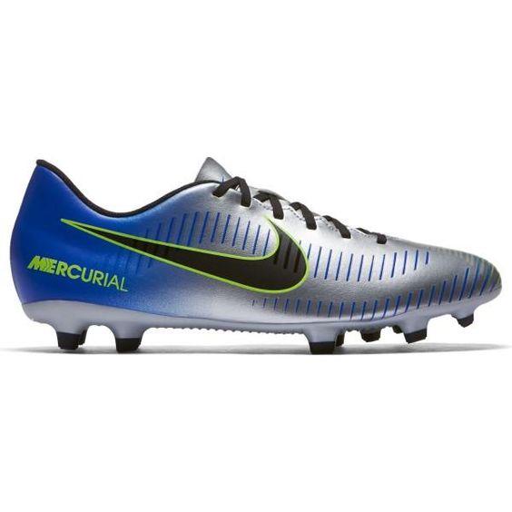 Nike Mercurial Vortex Iii Neymar Jr Fg Mens Football Boots Racer Blue Black Chrome Volt Cool Football Boots Football Boots Mens Football Boots
