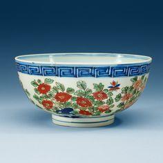 ~Wucai & Underglaze Blue Bowl~ ~~~~~~~~Ming Dynasty~~~~~~~~