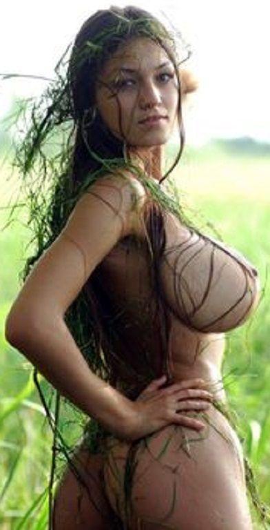 beautiful women with big breast