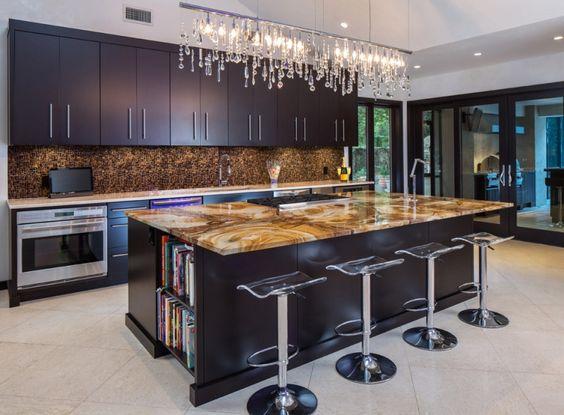 küchengestaltung moderne küchenideen küchenarbeitsplatten Küche - küche eiche rustikal