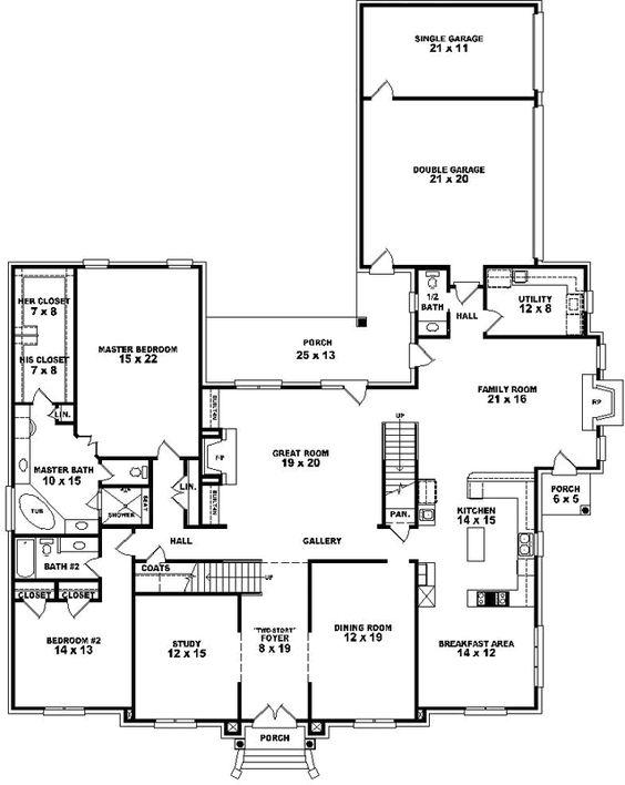 Plan plan monster house and stalls on pinterest for Luxury garage plans
