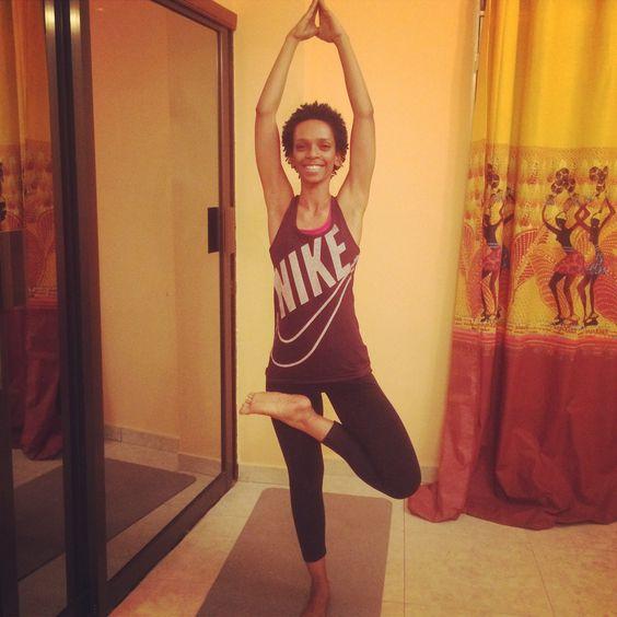 Quick 30 min yoga session done :)