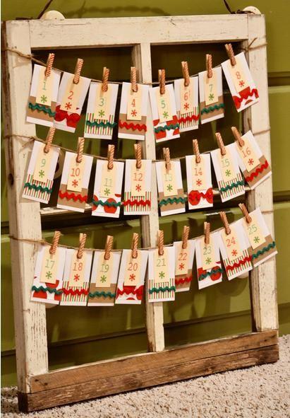 """Contando os Dias para o Natal: Ideias Criativas para confeccionar um """"Calendário…"""