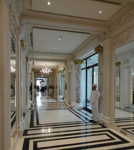 The peninsula hotel paris designed by henry leung of for The design hotel paris