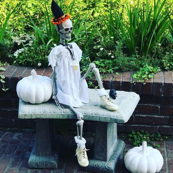 46 Charmante Und Gruselige Halloween Deko Zum Selbermachen Im Freien Halloween Yard Decorations Halloween Diy Outdoor Halloween Decorations Diy Outdoor