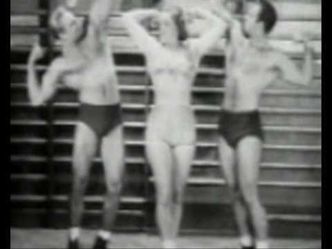 Vintage female bodybuilder 1916
