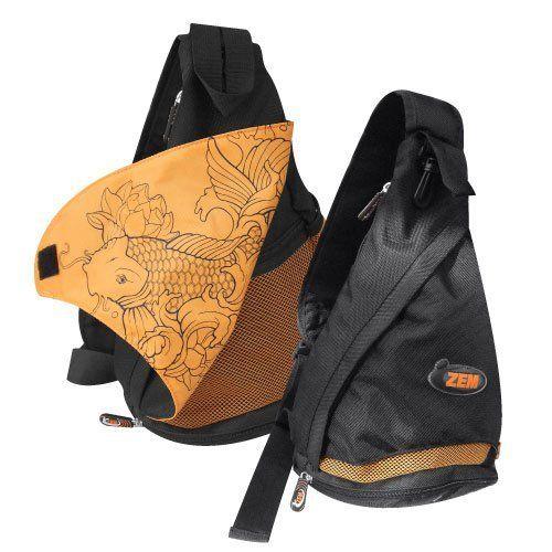 ZEMgear Sling Bag Black-Orange by ZEMGEAR. $29.99