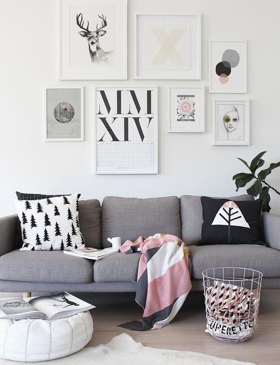 Salons d'inspiration scandinave | Buk & Nola: