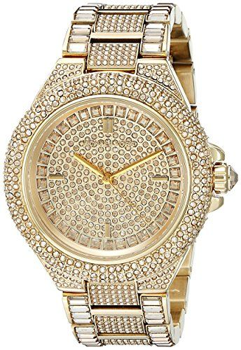 Michael Kors Women's Camille Gold-Tone Watch MK5720 Micha...
