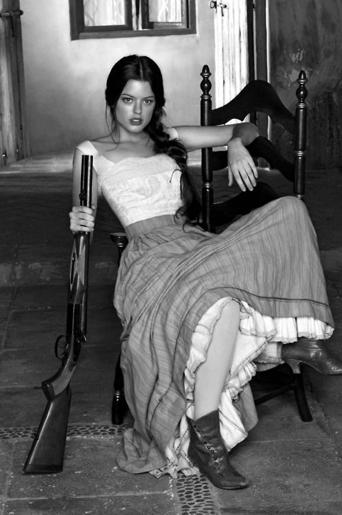Even back then women knew to keep armed. Girls with guns also use GunRightsAttorneys.Com