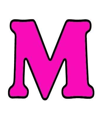 Letra m may scula imagen animada letra m min scula - Letras para dibujar ...