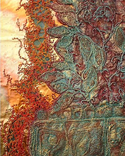 Alysn Midgelow-Marsden works with embroidered textiles using a wide range of contemporary textile and mixed media techniques. Although sh...