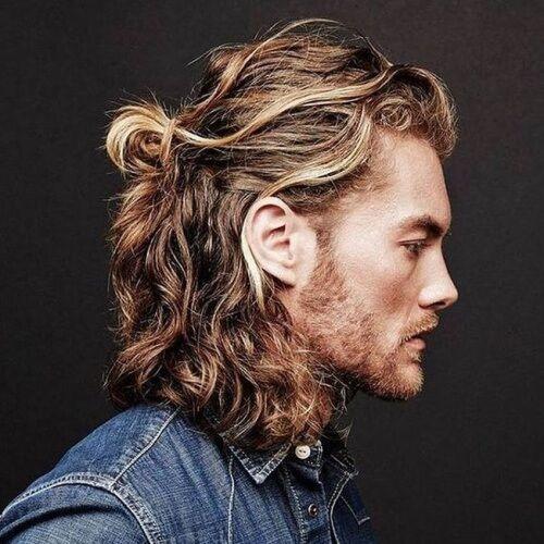 17 Corte de cabello en capas para hombre