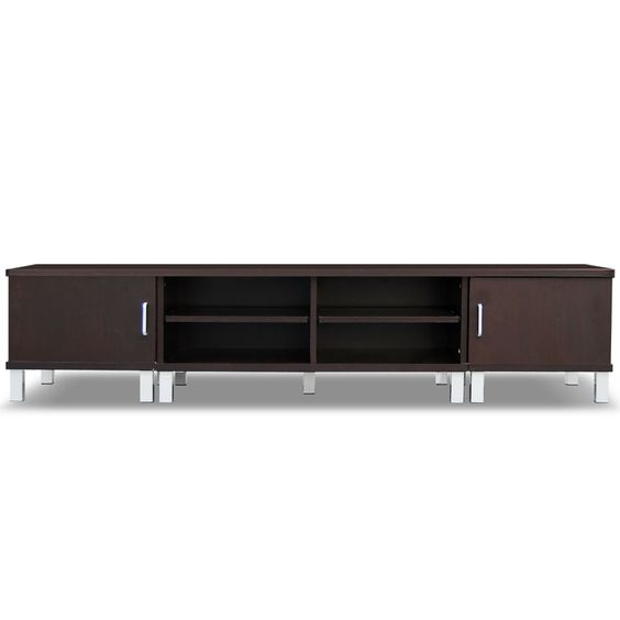 Modern Wooden TV Stand Entertainment Unit Cabinet