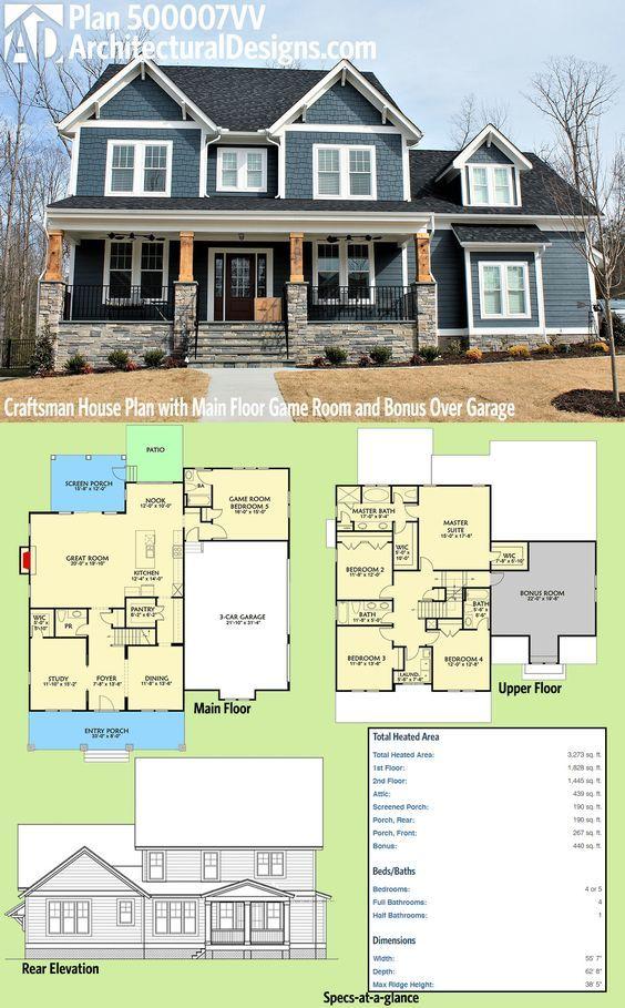 143 best Maison images on Pinterest Ranch home plans, Ranch house - liste materiaux construction maison