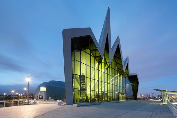 The Riverside Museum of Transport and Travel, Glasgow (Scotland)