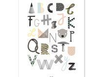 ABC Poster von Anny Who