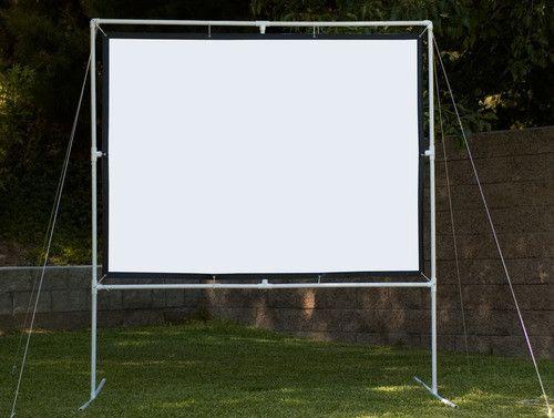 B007x90xda Outdoor Projector Screen Diy Outdoor Projector Outdoor Movie Projector Screen