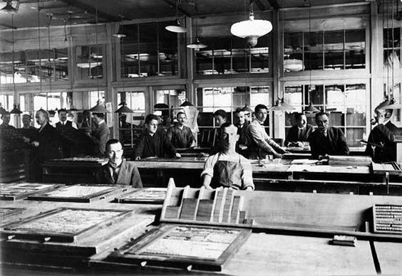Druckerei 1924