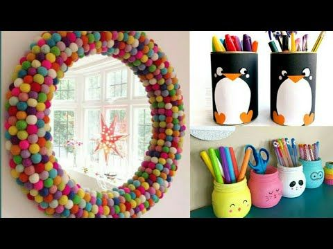 30 Best Out Of Waste Craft Ideas Home Decor Ideas Diy Wall