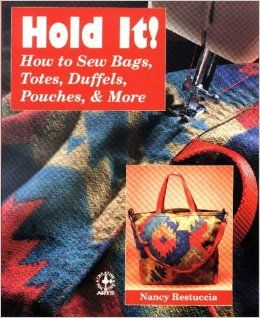 This book is perfect for anyone who wants to make tote bags, lingerie bags, shoe bags, jewelry pouches, and a whole lot more. I've made dozens of projects from this book and highly recommend it!