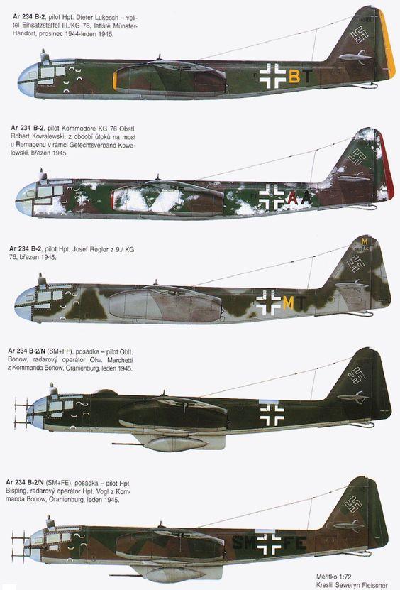 Arado 234, the first jet bomber