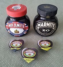 Three types of special UK Marmite packaging available in 2012