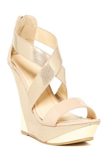 Bucco Bennington Wedge Sandal by Bucco on @HauteLook