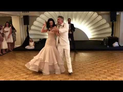 Super Cute Wedding First Dance To Marvin Gaye S Ain T No Mountain High E In 2021 Wedding First Dance Wedding First Dance