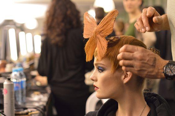 Paris Fashion Week backstage photos