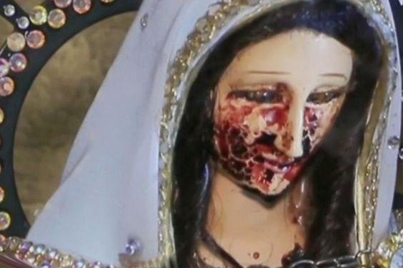 Virgen llora en semana santa.. ESTA ES LA RAZÓN!