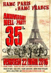 35e anniversaire du HAMC PARIS